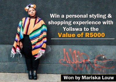 Win a personal styling and shopping experience with Yoliswa to the value of R5000