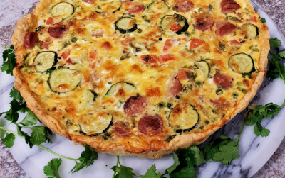 Clover Fresh Milk Quiche