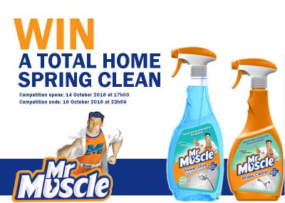 Win a home spring clean!