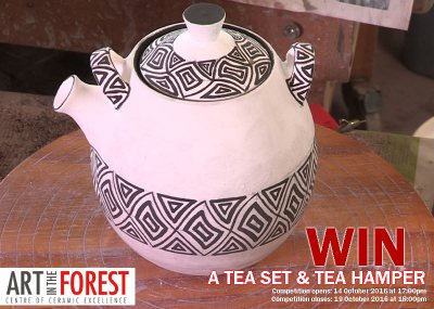 Stand a chance to win a Tea Set Hamper!