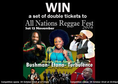 Stand a chance to win a set of double tickets!