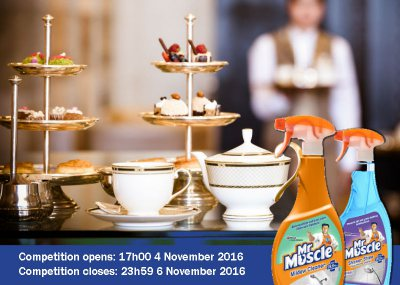Stand a chance to win a Spa Voucher and a Mr Muscle hamper!