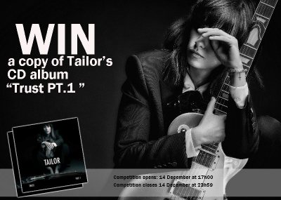 "Trust PT.1"" CD Album by Tailor competition"