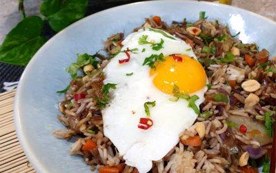 Veggie Nasi Goreng or Spicy Fried Rice