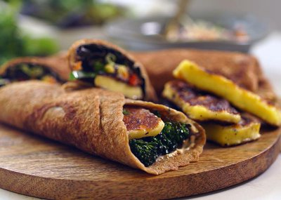 Woolworths Veggie wraps