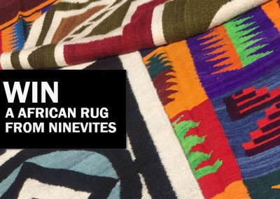 Win a African rug from The Ninevites