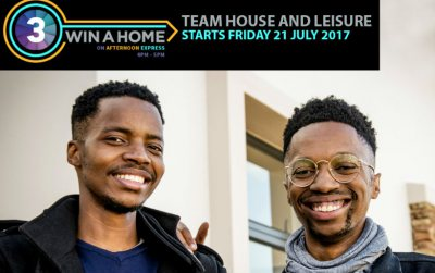 Win A Home: Team House and Leisure
