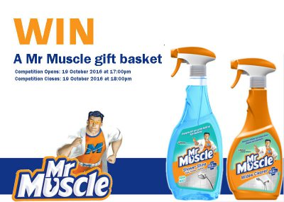 Win a Mr Muscle gift basket!!