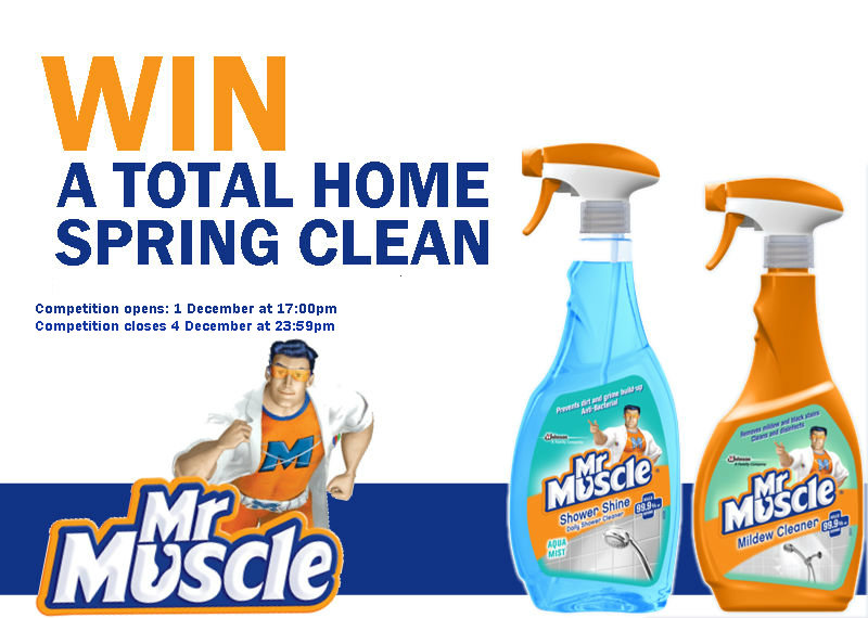 Mr Muscle total Spring Clean competition!