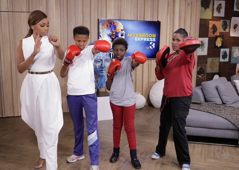 Andiswa Madikane of Boxgirls South Africa on Afternoon Express
