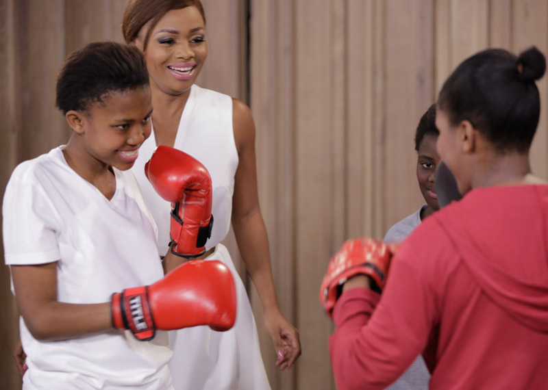 Boxgirls South Africa on Afternoon Express