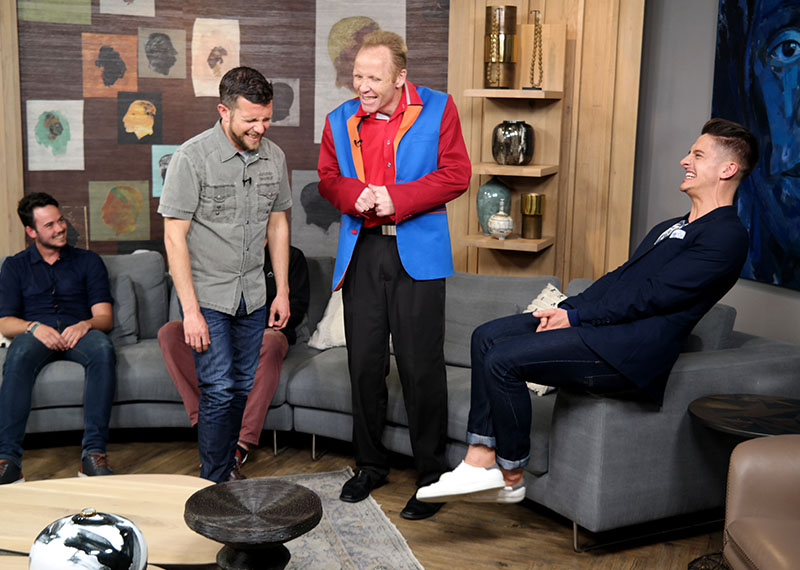 Andre the Hilarious Hypnotist has James under his spell